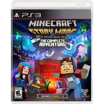 JOGO P/ PS3 MINECRAFT STORY MODE THE COMPLETE