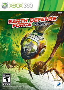 JOGO XBOX 360 EARTH DEFENSE FORCE:INSECT ARMAGEDON