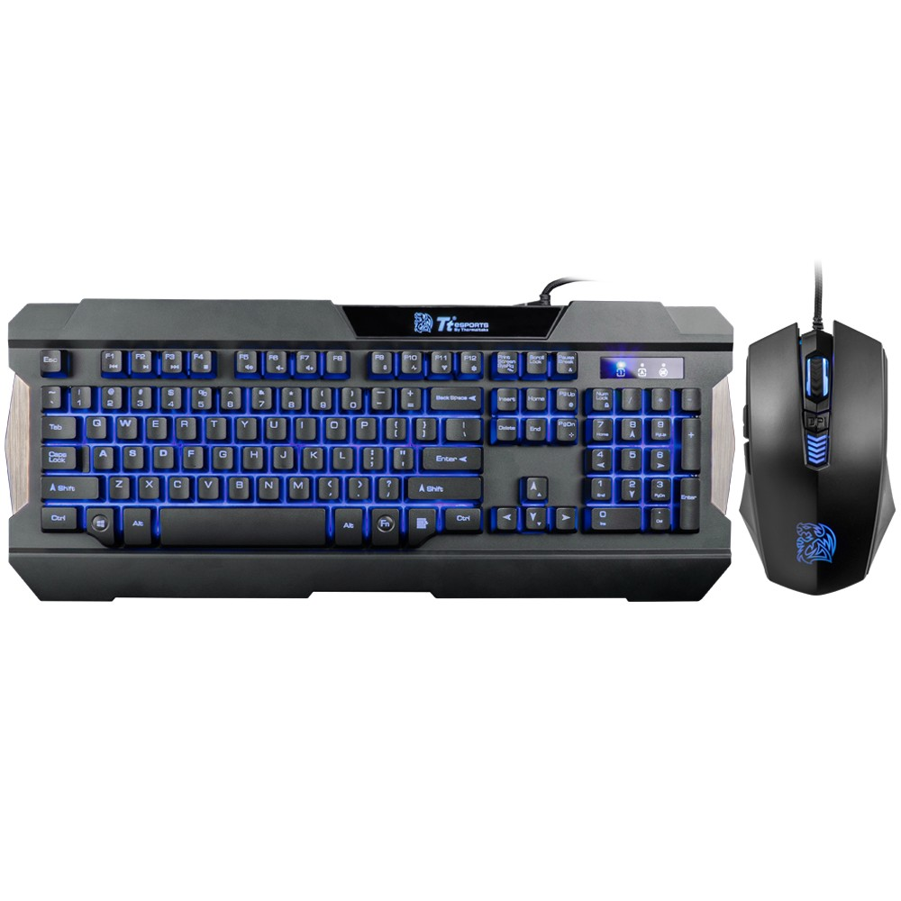 COMBO TECLADO E MOUSE COMMANDER MULTI-LIGHT TT